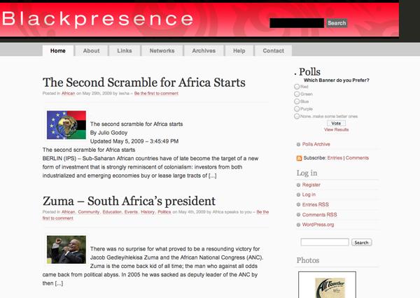 First WordPress version