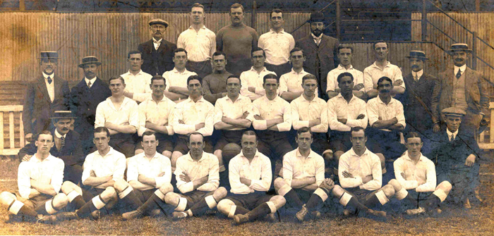 Spurs 1909 - Walter Tull