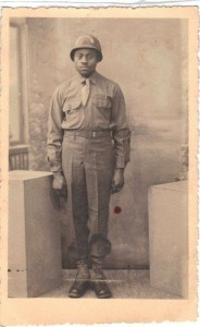 African American Soldier WW2