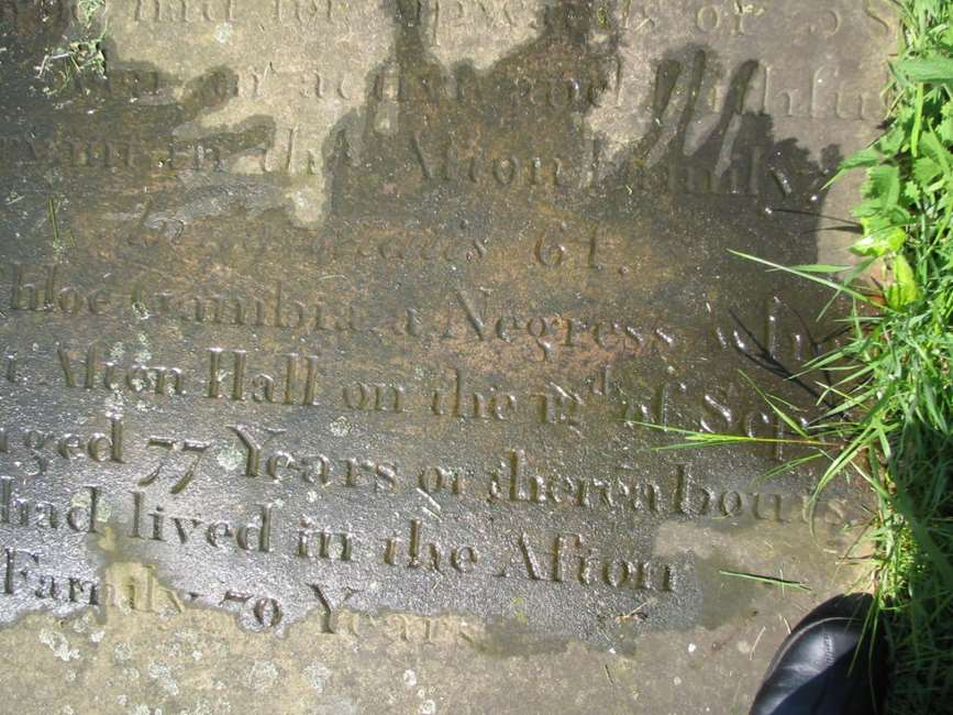 Grave of Chloe Gambia