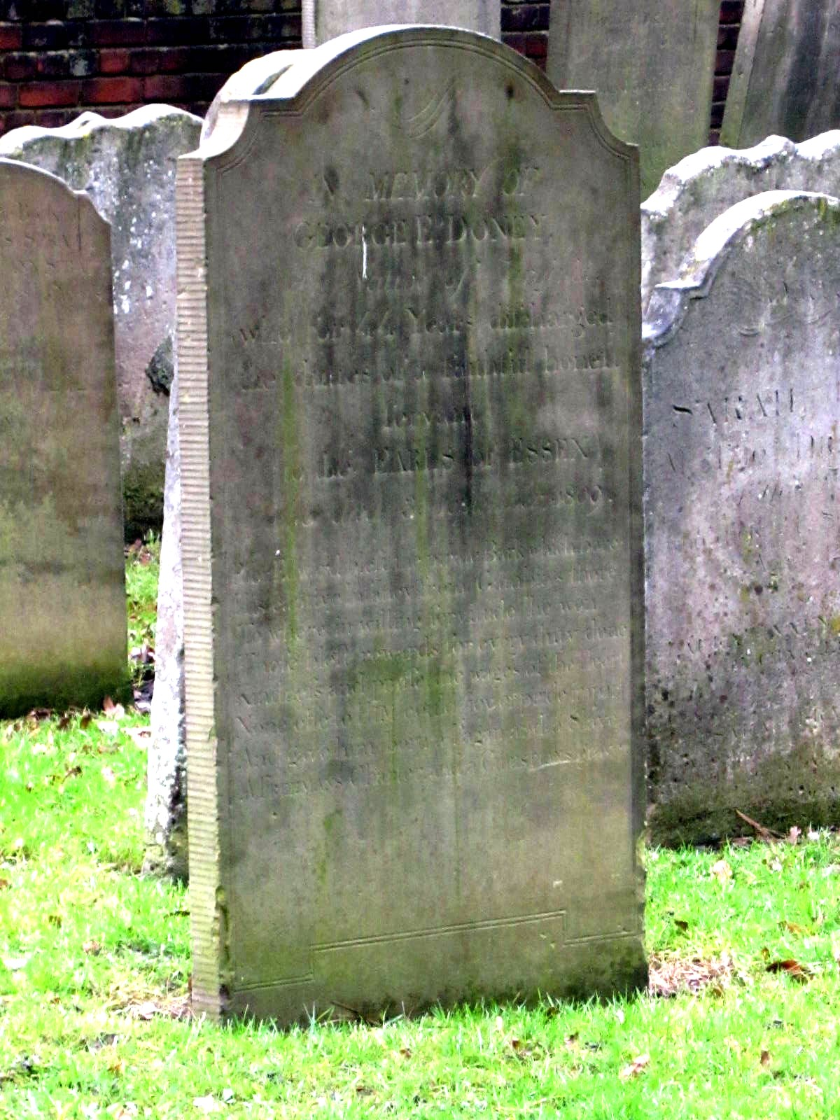 Grave of George Doney