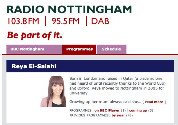Blackpresence on Radio Nottingham