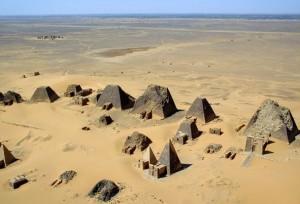 Meroe - Pyramids - Nubia