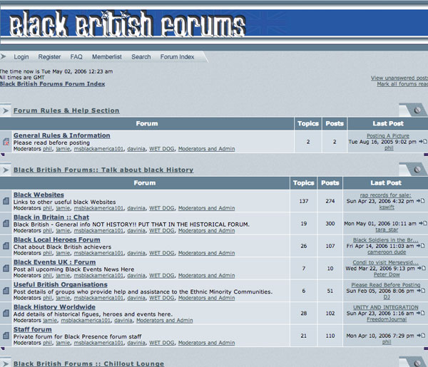 Black British Forums
