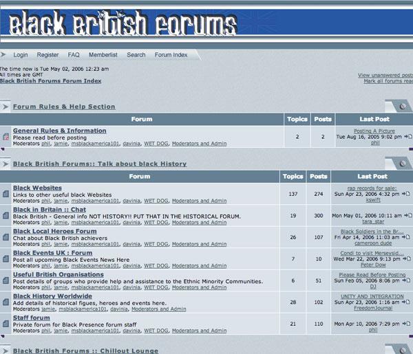 Black British Forums