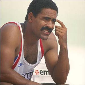 Daley Thompson is a black British former Athlete